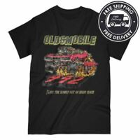 Stompin' 1968 Oldsmobile 442 Never A Close Call   Unisex Short Sleeve Tee Shirt