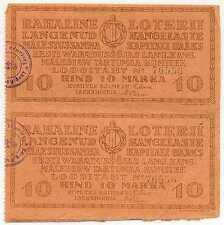 Estonia Liberty War Monument Com 4 Lottery Tickets 1923