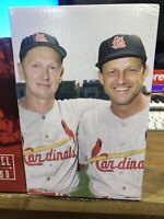 St. Louis Cardinals Stan Musial/Red Schoendienst Double BobbleHead SGA 9/14/19