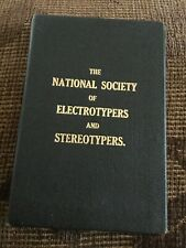 1923/24 National Society Of Electrotypers & Stereotypers Diary