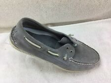 Sperry Top-Siders Gray Suede Leather Loafers Shoes 0859520 A-10 Mens Size 10