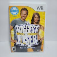 Biggest Loser (Nintendo Wii, 2009) COMPLETE w/ Manual - No Scratches