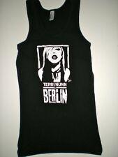 BERLIN Terri Nunn Women's Black Tank Top