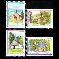 Luxembourg 1989 - Chapels - Caritas Issue - Sc B371/4 MNH