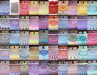 Queen Comforter Doona Cover Boho Mandala Cotton Indian Duvet Quilt Cover Set