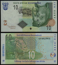 SOUTH AFRICA 10 RAND (P128a) N. D. (2005) UNC