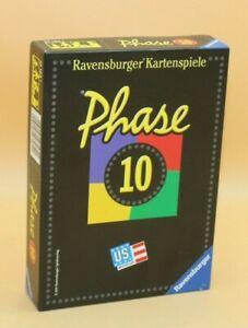 ⭐️ NEU Phase 10  Ravensburger +++ Kartenspiel ++++das Kultspiel ++++ ⭐️