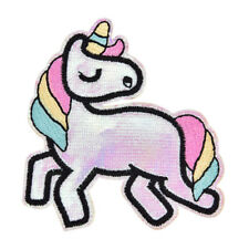 Sequin Horse Comics Cartoon Patch Sew Iron on Embroidered Sign Badge XRULDUK
