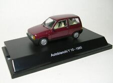 Starline Str50913 Autobianchi Y 10 1985 Red Met.1 43 Modellino Die Cast Model