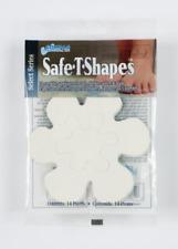Select Series 14 White Daisy Non-Slip Safety Applique Stickers Bath Tub Shower