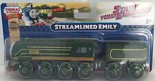 STREAMLINED EMILY Thomas Tank WOODEN Railway NEW IN BOX Start Your Engines