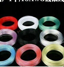 18 Awg High Temperature Teflon Ptfe Silver Plated Wire 10m Diameter157