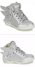 Geox Girl Trainers Ayko G. B Silver Model: Geox 004194