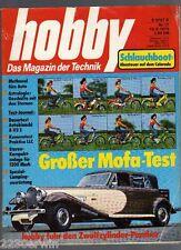 HOBBY -  1975 / 17 / AUTOBIANCHI A 112 E, MOFA-Vergleichstest, PANTHER de VILLE