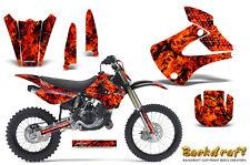 Kawasaki KX85 KX100 2001-2013 Graphics Kit CREATORX Decals BACKDRAFT R