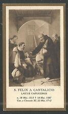 image pieuse ancianne de San Felix Catalicio holy card santino  estampa