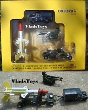 Oxford Military 1/76 Land Rover & Bristol Bloodhound SAM Missile Set RAF 76SET65
