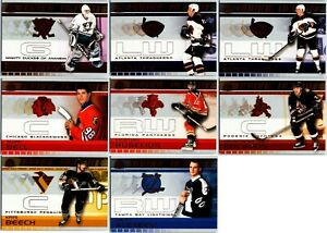 2001-02 PACIFIC ADRENALINE ROOKIE REPORT INSERT CARDS - PICK SINGLES FINISH SET