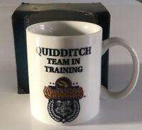 Harry Potter Porzellan Tasse Kaffeebecher Kaffeepott Quidditch Goldener Schnatz