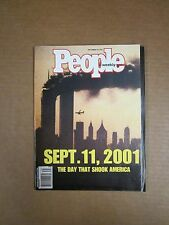 People Magazine - Sept. 11, 2001 The Day That Shook America - Sept. 24, 2001