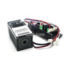 450nm 50mw 12V Blue Laser Dot Diode Module w/ Driver TTL + Fan cooling