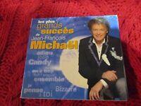 """COFFRET 2 CD DIGIPACK """"LES PLUS GRANDS SUCCES DE JEAN-FRANCOIS MICHAEL"""" best of"""