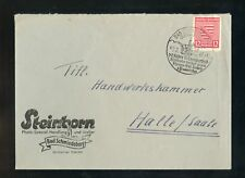 SBZ Nr.71X BRIEF SST BAD SCHMIEDEBERG 2.2.1946 HEILBAD MEDIZIN (952629)