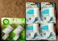 New Listing4 new packs AirWick Scented Oil Plug In Warmers, Glade Plug Ins Warmers, 6 ct
