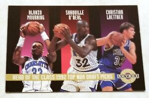 1992-93 Skybox Head Of The Class 1992 Top NBA Draft Picks RC Shaquille O'Neal SP