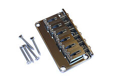 Gotoh Hardtail Stratocaster Strat Style Fixed Guitar Bridge • Chrome GTC102
