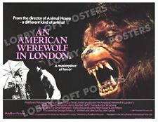 AN AMERICAN WEREWOLF IN LONDON LOBBY CARD POSTER BQ 1981 JOHN LANDIS