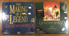 GONE WITH THE WIND & MAKING OF A LEGEND on Laserdisc Brand New SEALED Musical
