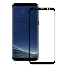 Samsung Galaxy S8 Curved Soft TPU Full Screen Protector to Edge in Black