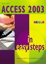 Access 2003 in Easy Steps By Mark Lewin
