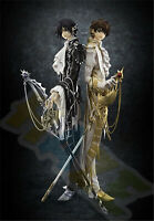 2pc Code Geass R2 Clamp Works Lelouch & Suzaku PVC Figure Model Toys 24cm