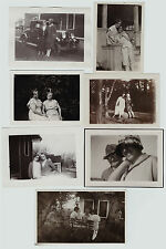 Orig Snapshot PHOTO LOT of 7 - 1920s-1930s Lesbian Gay Women Couple Rochester NY