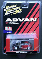 JOHNNY LIGHTNING Yokohama Advan 1998 Honda Civic 1:64