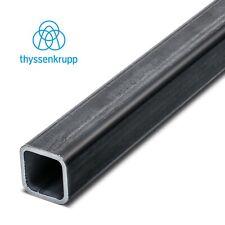 Vierkantrohr Stahl bis 2450mm Vierkant Rohr Quadratrohr Rechteck Hohlprofil S235