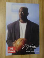 Advertising Poster Michael Jordan for Hanes Chicago Bulls NBA Basketball