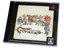 Japanese sony playstation 1 RPG jeu chrono trigger JP Jap PSX PS1 squaresoft