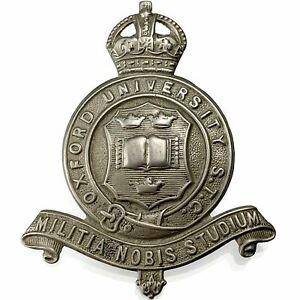Original Oxford University Officers Training Corps OTC Cap Badge - XF45