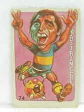 MASTRANGELO 1979 ORIGINAL FOOTBALL SOCCER BOCA JUNIORS CARD Nº 74