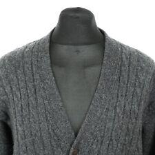 Vintage TRUSSARDI Woolen Cardigan | Jumper Sweater Knit Retro Cardy Wool Jacket
