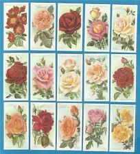 UK Issue Flowers/Garden Collectable Cigarette Cards