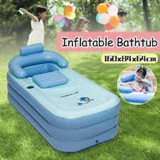 Planschbecken aufblasbare Badewanne für Erwachsene Pool Reise Wanne Outdoor PVC