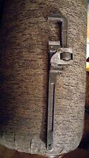 "Vintage Trimo 14"" Pipe Wrench Adjustable Trimont Mfg Co. Roxbury Mass USA 3-5-18"
