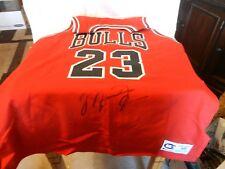 Michael Jordan Autographed Chicago Bulls Jersey Size 48 Road Jersey 1990's