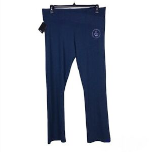 VS Victoria Sport Navy Blue Everywhere Crossover Active Slim Boot Pants Size XL