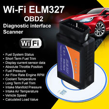 ELM327 WiFi OBD2 Scanner Auto Car Diagnostic Tool For iPhone Android Window PC N