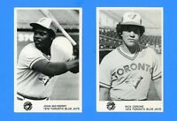 1978 TORONTO BLUE JAYS POSTCARD SET NM